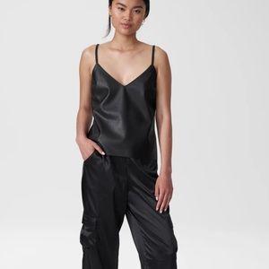 Universal Standard Vegan Leather Cami